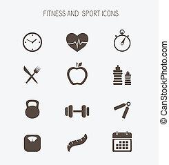 stosowność, zdrowie, ikony