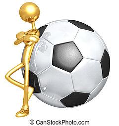 stosunek, soccer piłka nożna