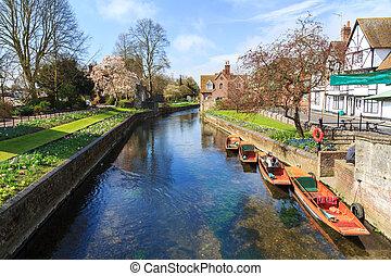 stour rivière, canterbury