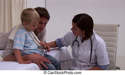 stoutmoedig, arts, het onderzoeken