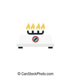 stove flat icon