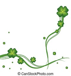 St.Patrick day greeting card