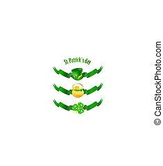 st.patrick, feiertag, banner
