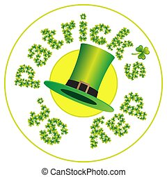 St.Patrick's Day coaster