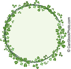 St.Patrick`s day frame