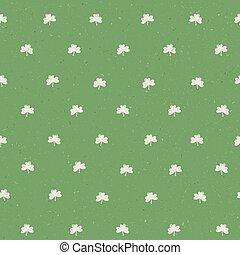 St'Patricks day seamless pattern textured