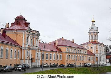 st.peterburg, alexandro-nevskay, lavra