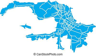 St.Petersburg map