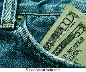 strávit peníze