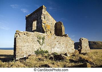 sträfling, ruinen