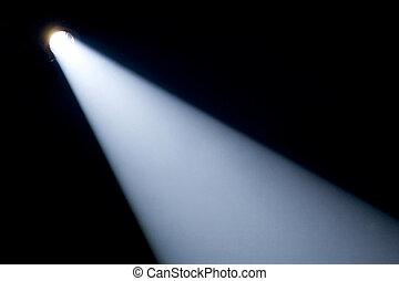 stråla, spotlight