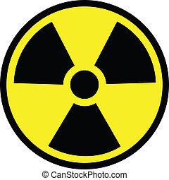 stråling, fare