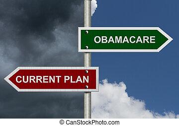 strömung, gegen, obamacare, plan