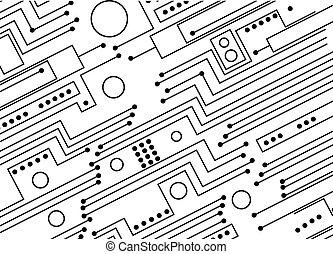 strømkreds planke