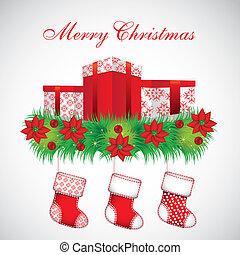 strümpfe, geschenke, weihnachten