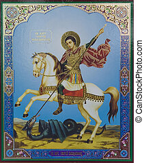 str. george, ikone