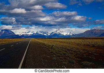 straße, patagonia