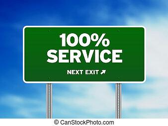 straße, service, zeichen, 100%