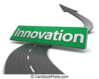 straße, zu, innovation
