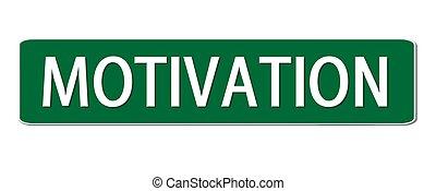 straßenschild, motivation
