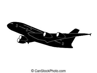 straalvliegtuig, lijnvliegtuig