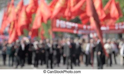 straat, demonstratie