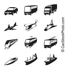straat, vervoer, zee, ruimte