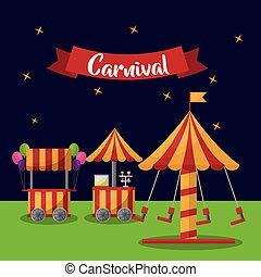 straatfeest, carnaval, fair