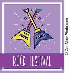straatfeest, wieg muziek, gebeurtenis, concert