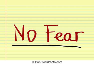 strach, pojęcie, nie