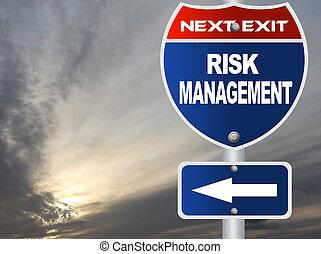 strada, amministrazione, segno, rischio