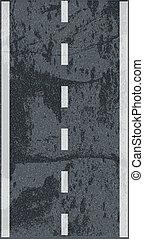strada, asfalto, struttura
