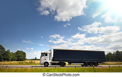 strada, camion