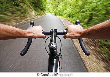 strada, ciclismo