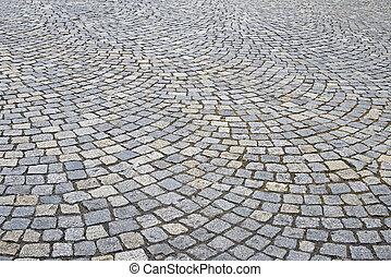 strada, cobbled