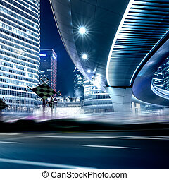 strada, e, urbano, fondo