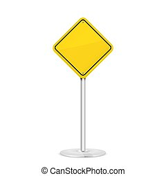 strada gialla, segno