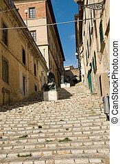 strada, italiano