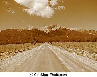strada lunga, avanti