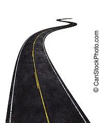 strada, nero