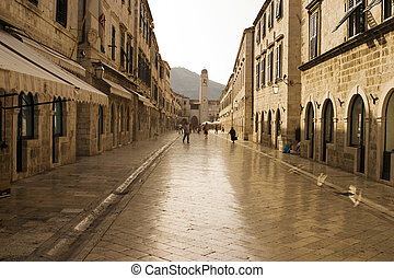 Strada of Dubrovnik - The Strada is the main shopping street...