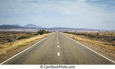 strada, orizzonte