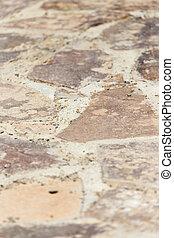 strada, pietra, tegole, fondo