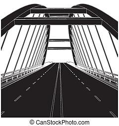 strada, ponte