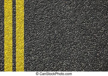 strada, struttura, con, linee