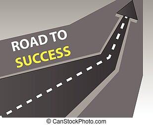 strada successo, fondo