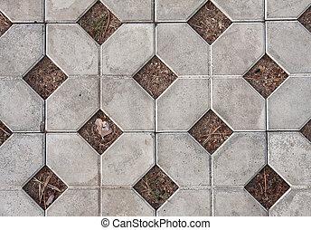 strada, tiles., fondo
