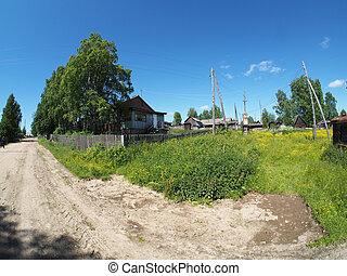 strada, villaggio
