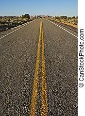 Straight Arizona Highway