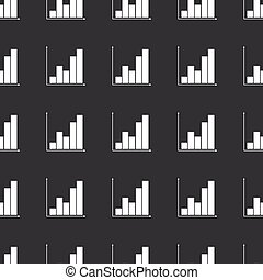 Straight black graphic pattern